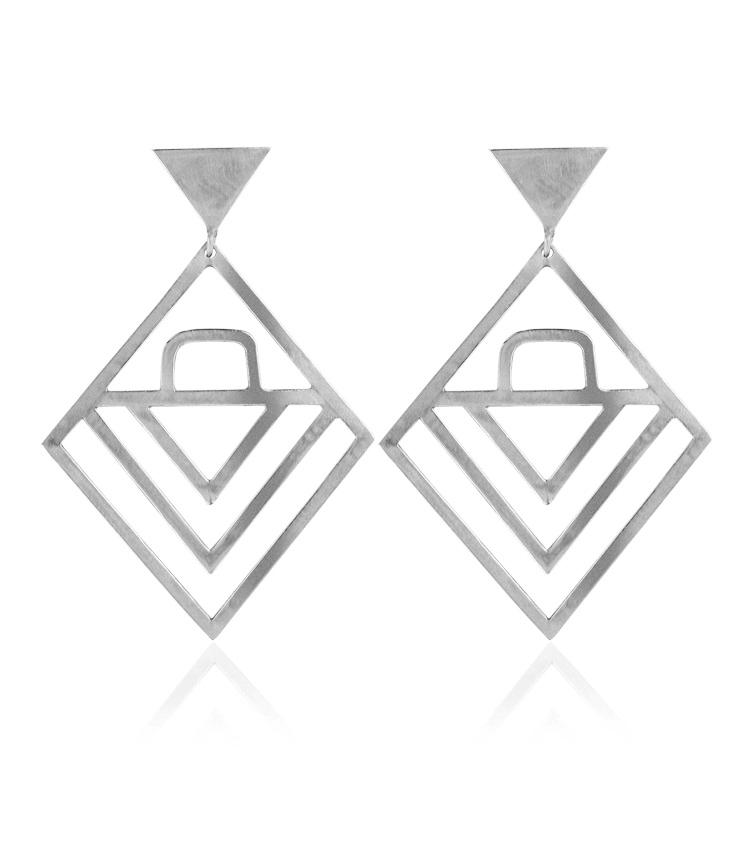 Brincos em prata - ICB834