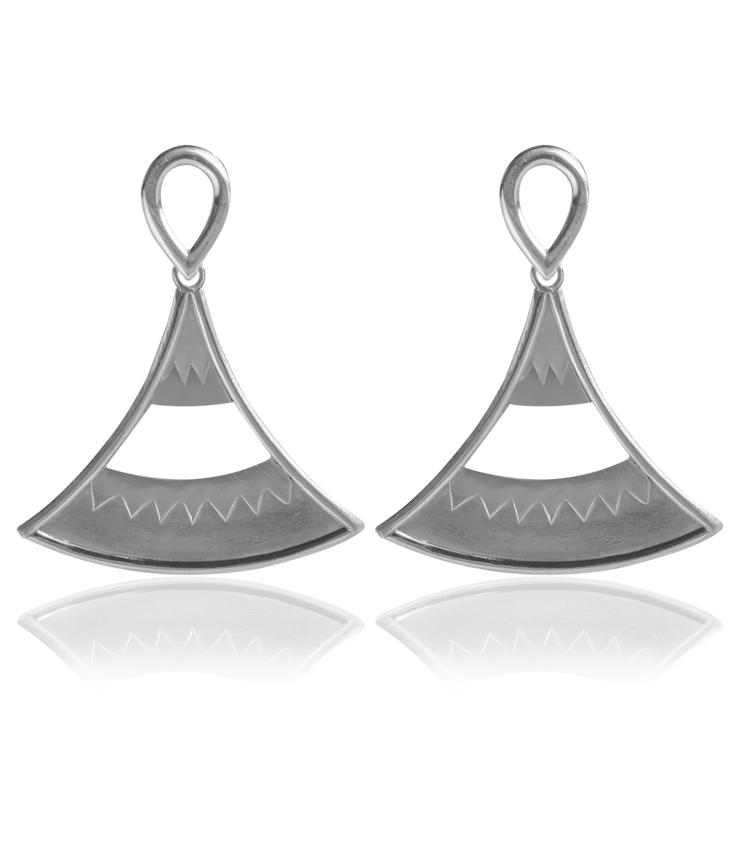 Brincos em prata - ICB828