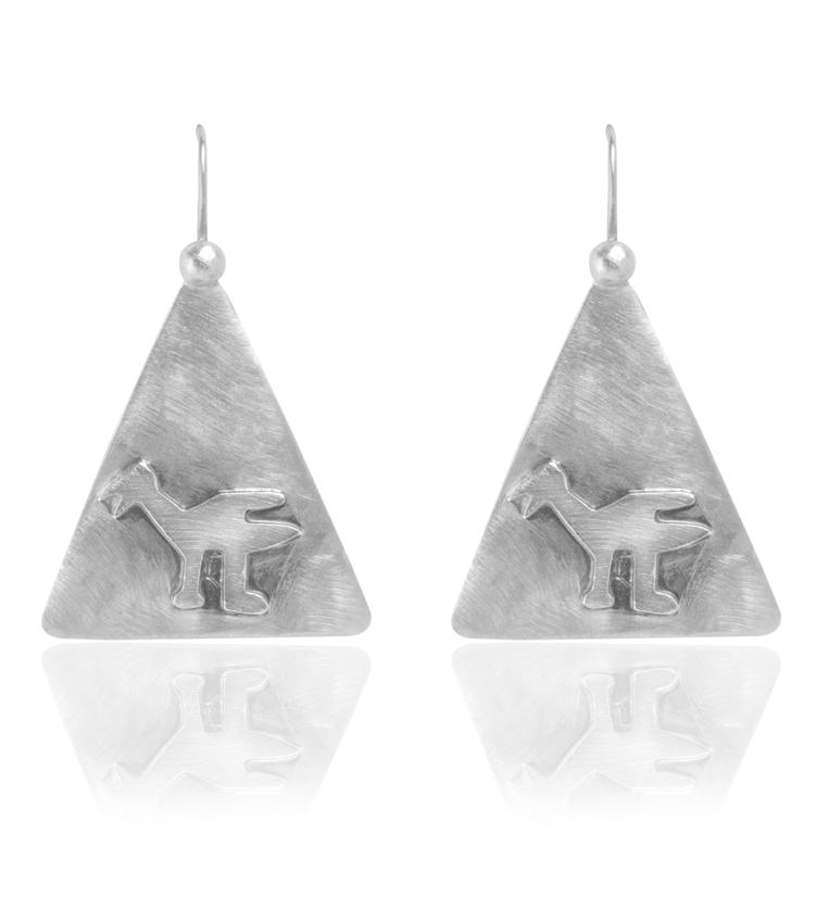 Brincos em prata - ICB816