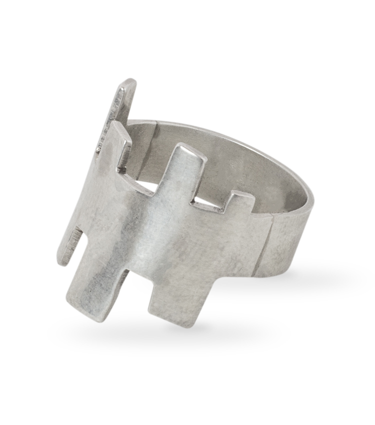 Anel em prata - ICA901