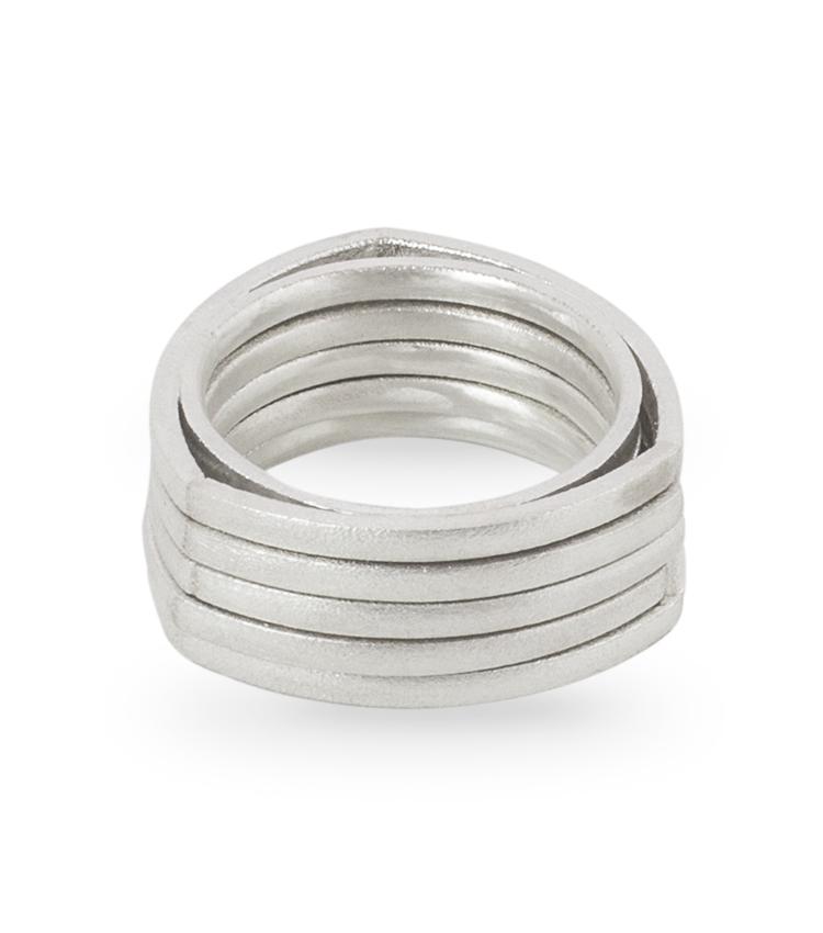 Anéis prata - ICA914